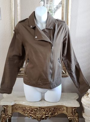 Army green Jacket size Medium. for Sale in Riverside, CA