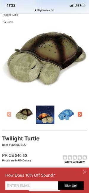 Twilight turtle 🐢 by cloud b for Sale in Las Vegas, NV