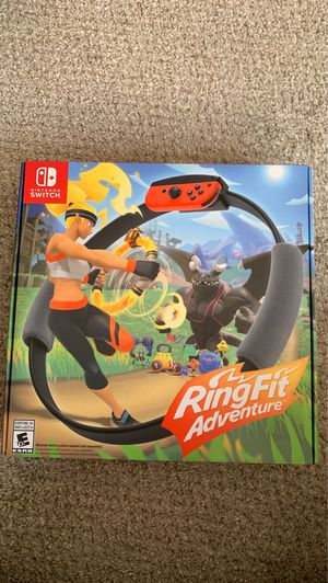 Ring Fit Adventure -- Standard Edition (Nintendo Switch, 2019). Brand New. for Sale in Gaithersburg, MD
