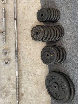 Weider weight set for Sale in Orange City, FL