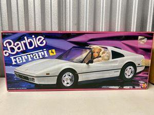 Vintage Mattel White Barbie Ferrari for Sale in Napa, CA