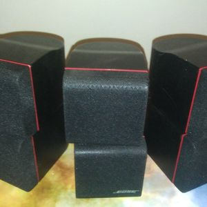Bose Red Line Double Cube Surround Speakers for Sale in Tucson, AZ