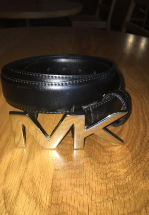 Micheal kors belt ( stainless silver) 95m/adjustable for Sale in San Francisco, CA