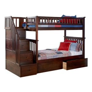 Twin bunk bed with storage for Sale in DORCHESTR CTR, MA