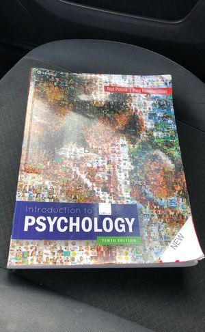 Introduction to psychology tenth edition 📔📔 for Sale in Sanger, CA