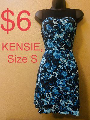 KENSIE, Black & Blue Floral Dress, Size S for Sale in Phoenix, AZ