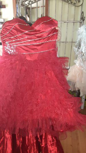 Red dress quinceanera for Sale in Humble, TX