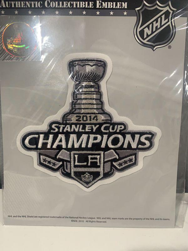 LA Kings 2014 Stanley Cup Champions Patch