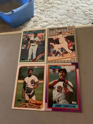 4 Garry Templeton baseball cards for Sale in Santa Ana, CA