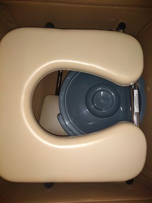 Camping Toilet Deluxe! SUPER PADDED WITH BACKREST BRAND NEW for Sale in Bloomington, CA