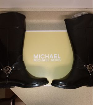 Michael Kors rain boots size 8 for Sale in New York, NY