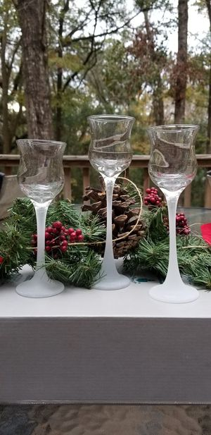Partylite glass votive holder for Sale in Miccosukee, FL