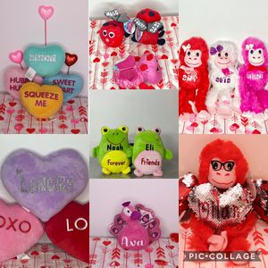 Personalized Valentine's Day plushys for Sale in Lemon Grove, CA
