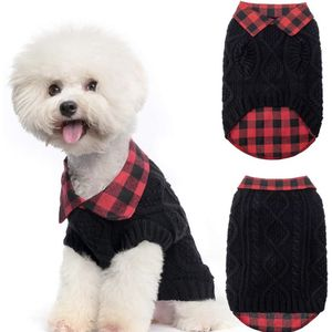 Red And Black Buffalo Plaid Dog Shirt/Sweater Combo-Small for Sale in Rancho Cucamonga, CA