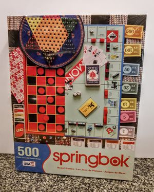 Springbok board Games Puzzle. SEALED for Sale in Riverside, CA