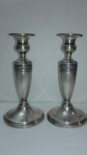 $34 each Pair of Sterling Silver Candlesticks (about 15 ounces each) for Sale in West Palm Beach, FL