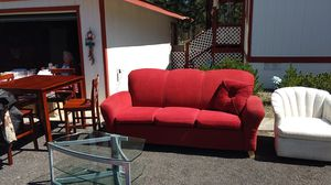 Couch,chairs,desk and shelf's for Sale in La Pine, OR