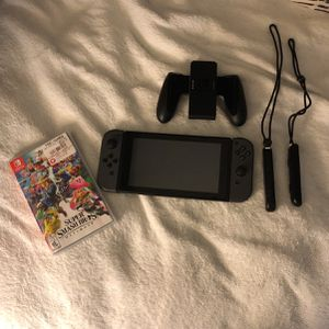 Nintendo Switch With Smash Bros for Sale in Miami, FL