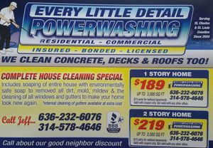 SCHEDULING SPRING CLEANINGS for Sale in O'Fallon, MO