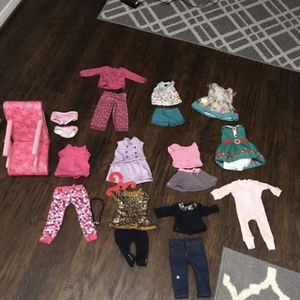 American Girl clothes and shoes for Sale in Mesquite, TX