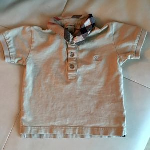 Polo Burberry Beige 9 / 12 months for Sale in Miami, FL
