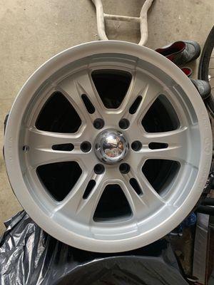 Weld EVO Velociti 6 Forged 18x8.5 6x5.5 Toyota Chevy Rims!!! for Sale in Cerritos, CA