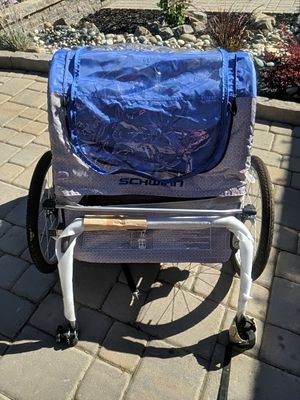 Schwinn Double child bike trailer like new for Sale in Danville, CA