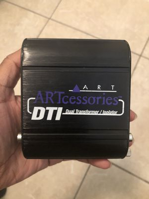 ART DTI Dual Transformer Isolator $60 for Sale in Fort Lauderdale, FL