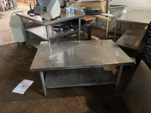Stainless steel tables for Sale in St. Louis, MO