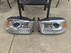 2014-2018 Dodge Ram Laramie OEM LED Xenon headlights for Sale in Dearborn Heights, MI