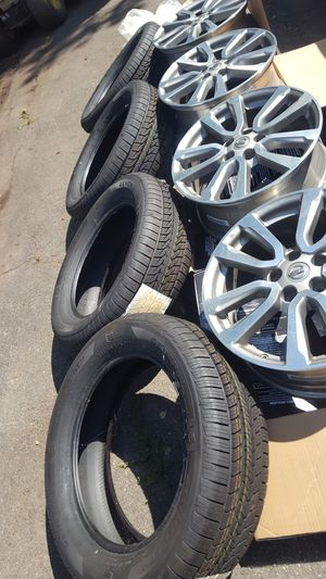Rims and tire combo for Sale in Torrington, CT