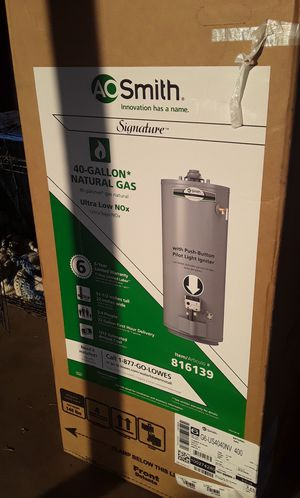 AO Smith 40 gallon hot water heater for Sale in Citrus Heights, CA
