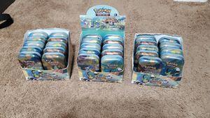 Empty pokemon tins for Sale in Gilbert, AZ