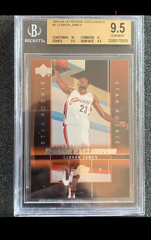 Lebron James RC UD RE BGS 9.5 for Sale in Westlake, OH