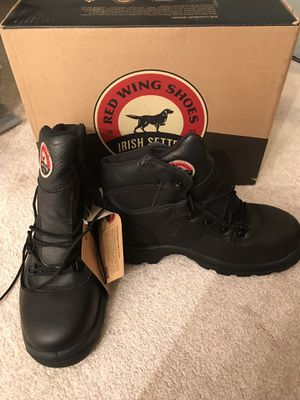 Men Irish Settle Red wing Irish settle steel toes boot size 7.5 for Sale in Falls Church, VA