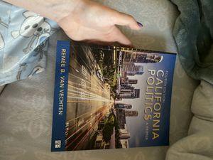 California Politics Book for Sale in Murrieta, CA