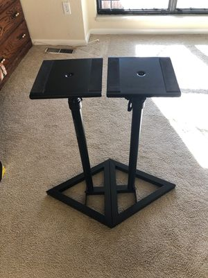 Seismic Audio Speaker stands for Sale in Lakewood, CO