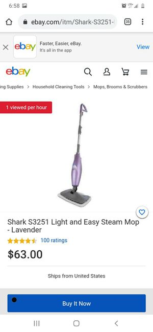 Shark Light&Easy Steam Mop for Sale in St. Louis, MO