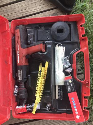 Hilti Deluxe Actuated Grating Tool for Sale in Dallas, TX