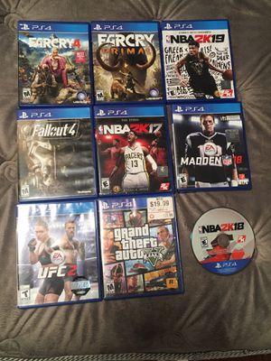 PS4 games for Sale in Halethorpe, MD
