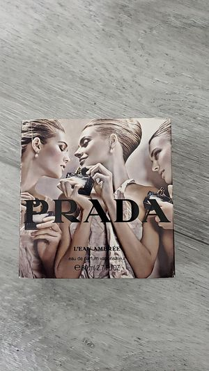 Prada Leau Ambree 2.7 oz EDP perfume for Sale in San Diego, CA