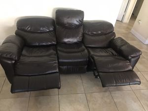 Electric Reclining Sofa Set for Sale in Miami, FL