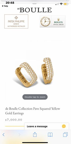 Yellow gold earrings for Sale in Mesquite, TX