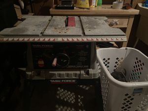 Task Force 10 Inch Bench Table Saw for Sale in Alexandria, VA