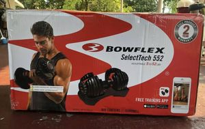 Pair of Bowflex Select Tech 552 Dumbbells for Sale in Covina, CA