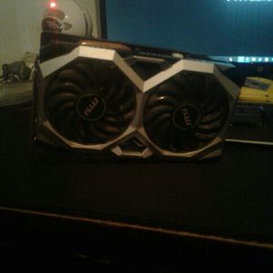 Msi Gtx 1660 Ventis Oc 6gb Gpu for Sale in Sherwood, AR