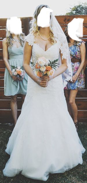 Wedding Dress - Alfred Angelo for Sale in Waxahachie, TX