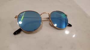 Rayban blue mirror sun glasses for Sale in Fountain Valley, CA