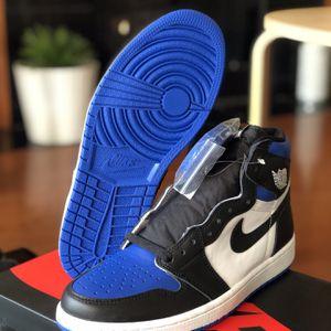 Jordan 1 Royal Toe for Sale in Hoffman Estates, IL