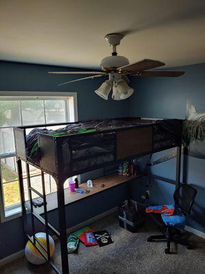 Brand new Markain Industrial Metal Bed/ desk for Sale in OSBORNVILLE, NJ